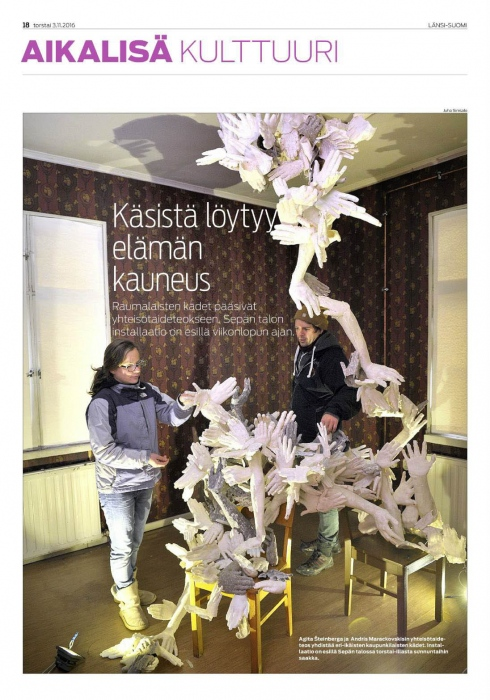 Article in Lansi-Suomi